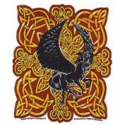 Celtic Fire Black Pegasus Decorative Sticker Decal By Delight's Fantasy Art
