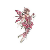 Del's Rose Fairy Decorative Sticker Decal By Delphine Levesque Demers