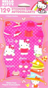 HELLO KITTY STICKERS (1 PACK - 129 STICKERS - 6 SHEETS) BY SANRIO