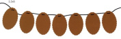 Oval Scallop Chipboard Garland Shapes