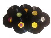 12 REAL 30cm 33rpm LP Records Arts & Crafts Decoration 50's 60s Party Artwork