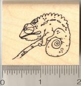Chameleon Rubber Stamp