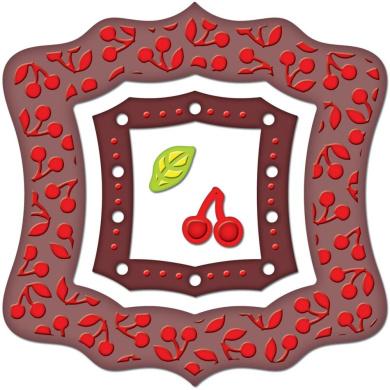 Spellbinders S5-021 Frameabilities Cherry Pickin Die Template