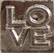 LOVE (stacked) Deluxe Wax Seal Stamp