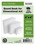 Eco Green Crafts 10cm Dimensional Board Book