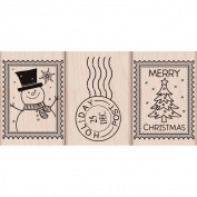 Hero Arts Mounted Rubber Stamps Christmas Post
