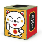 Box Play for Kids Lucky Kitty Tissue Box Stickers