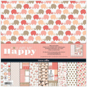 Teresa Collins You Are My Happy Collection Pack, 30cm by 30cm