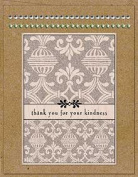 Card Art Kindness Wood Mounted Rubber Stamp Kit