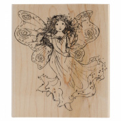 Penny Black Mounted Rubber Stamp 10cm x 11cm -Winged Fairy