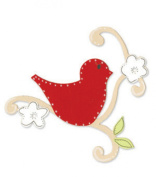Sizzix Bigz BIGkick/Big Shot Die-Bird With Vine