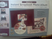 """Memories - Instant Scrapbook """"Click and Create"""" Software and Album Kit"""