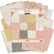Pink Paislee Cottage Farms 12x12 Paper Pack