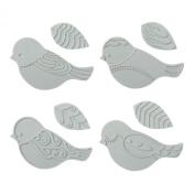 Fiskars 100930-1001 Bird Design Plate Expansion Pack, Medium, 4-Pack