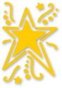 Sizzix Simple Impressions Embossing Die & Folder STAR #1