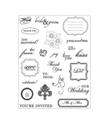 Making Memories Clear Stamps - I Do