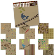Becoming Green 30cm x 30cm Scrapbook Paper Pack