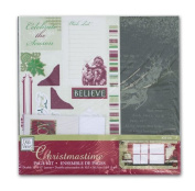 Deja Views Christmastime Scrapbook Page Kit