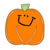 Lasting Impressions Brass Stencil - Smiling Pumpkin