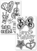 Stampology Girl Power Clear Stamps