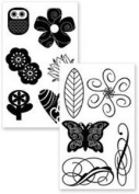 Stampology Manhattan Icons Clear Stamps