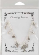 Charming Accents Knitters Bracelet-Silver