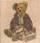Velma Q. Berriweather Boyds Collection Wood Mounted Rubber Stamp