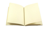 15cm x 20cm Journal Refill - Handmade Paper, Unlined, Acid Free - 200 pages