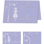 Craftwell USA Whimsical Wishes Embossing Bi-Fold Design Folder, 22cm by 28cm