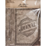 Tim Holtz Idea-ology TH93097 Journaler Worn Cover Album, 12cm by 18cm