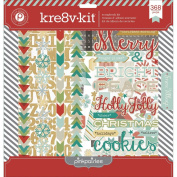 Pink Paislee Snow Village Kre8v-Kit Collection Pack
