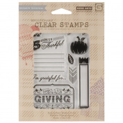 Hero Arts Clear Stamps - Thankful