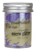 Stampendous Frantage Micro Glitter for Arts and Crafts, Lavender
