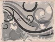 Misty Swirl Pattern by Hero Arts