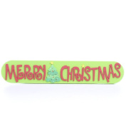 """Foamie """"Merry Christmas"""" Sign for Crafts and Decorations Package of 12"""