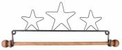 Ackfeld 19cm Dowel Fabric Holder, Three Stars