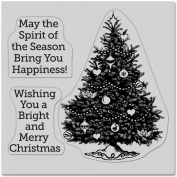 Spirit Of The Season Cling Stamps