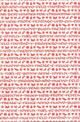 Holiday Wishes Rolled Christmas Decorative Gift Wrap Paper