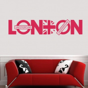 LONDON CITY Vinyl Art Mural PVC Decal Sticker Home Decorative Decor EWQ0048