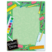 Geographics Design Paper, School, 24 lb, 22cm x 28cm , 100 Sheets Per Pack