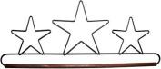 Ackfeld 41cm Dowel Fabric Holder , Three Stars