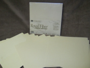 50 Sheets Royal Fibre Premium Scrapbooking Card Stock 30cm x 30cm Paper