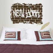 """60*45CM """"NEW YORK"""" Vinyl Art Wall Sticker Room Decorative Decor Living Room Decals EWQ0046"""