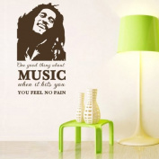 """...MUSIC...""Vinyl Art Wall Sticker Room Decorative Decal Living Room Decor EWQ0254"