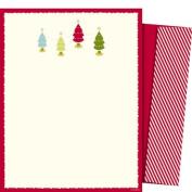 Mara-Mi Letterhead Trees, 22cm x 28cm , 10 sheets/envelopes