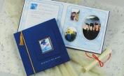 New Seasons Graduation Shadowbox Scrapbook Memory Album