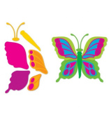 Sizzi by Sizzlits Die Set 4 Pack, Build A Butterfly