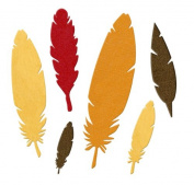 We R Memory Keepers We R Memory Keepers 10cm by 10cm Feathers Die