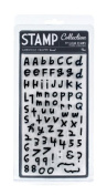 Clear Acrylic Large Stamp Set-Rue Alphabet