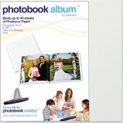 PhotoBook 8x8 Album: White 9mm